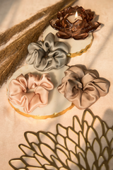 SPARKLING SODA SILK SCRUNCHIE COLLECTION - Spotstyl