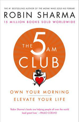 #1. The 5AM Club by Robin Sharma
