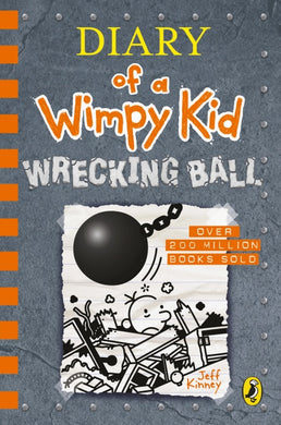 #4. Diary of a Wimpy Kid: Wrecking Ball by Jeff Kinney