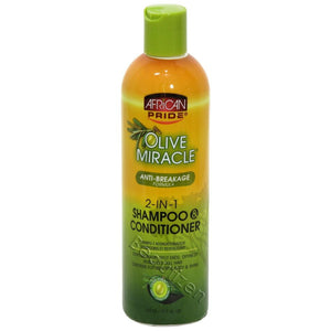 AFRICAN PRIDE 2 In 1 SHAMPOO CONDITIONER