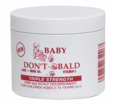 SSG BABY DONT B BALD  H/S NOURISHMENT TRIPLE STRENGTH