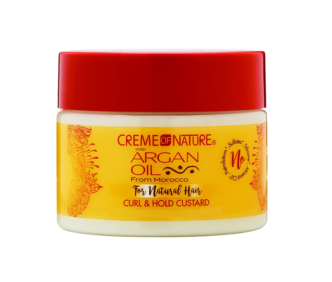 Creme of Nature w/Argan Oil Curl & Hold Custard