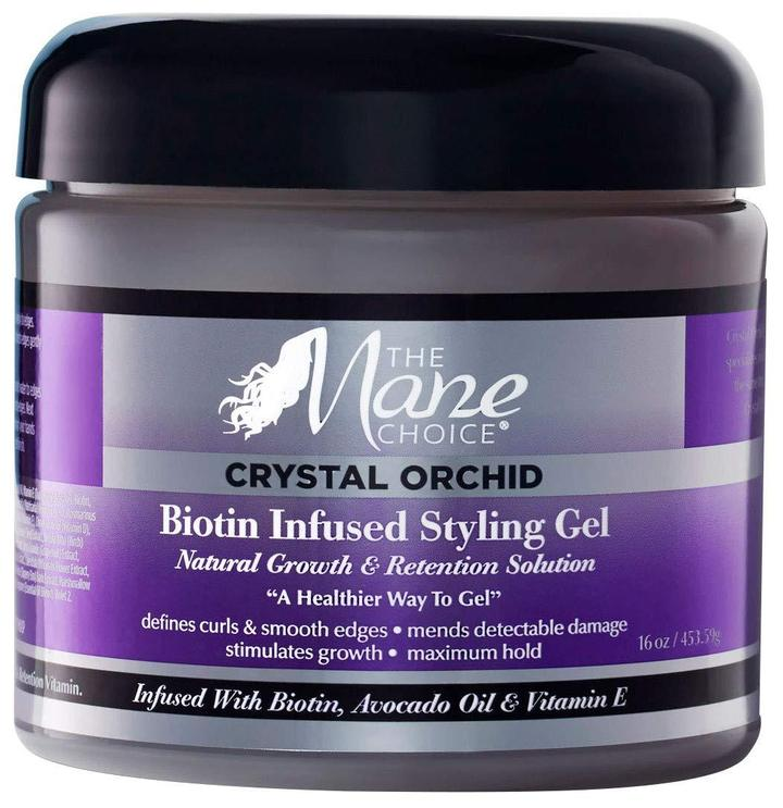 Mane Choice Crystal Orchid Biotin Infused Styling Gel