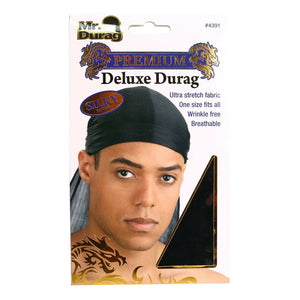 Durag Deluxe Spandex Assorted Colors