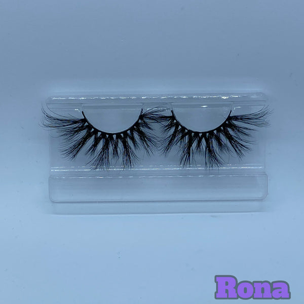 Rona mink Lashes (25mm)