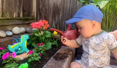 Cultivate a Garden and Your Child's Fine Motor Skills