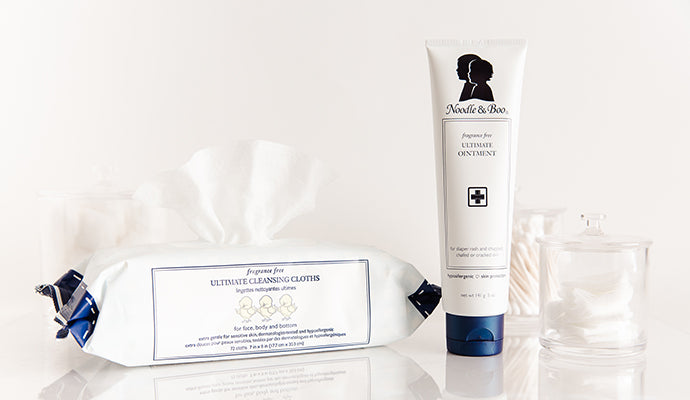 Ultimate Ointment and Fragrance-Free Ultimate Cleansing Cloths for Eczema Care