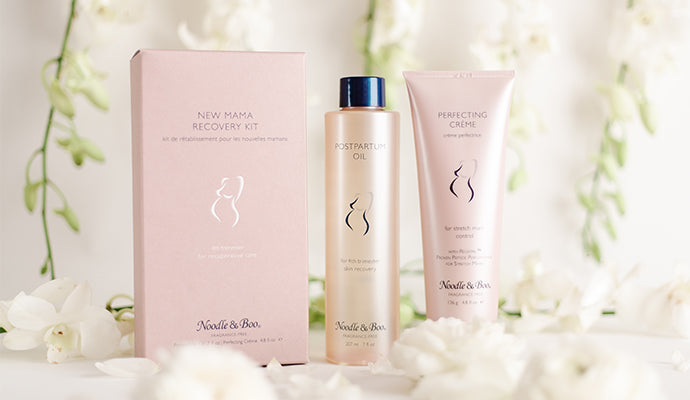 New Mama Recovery Kit, skincare for new mothers, 4th trimester