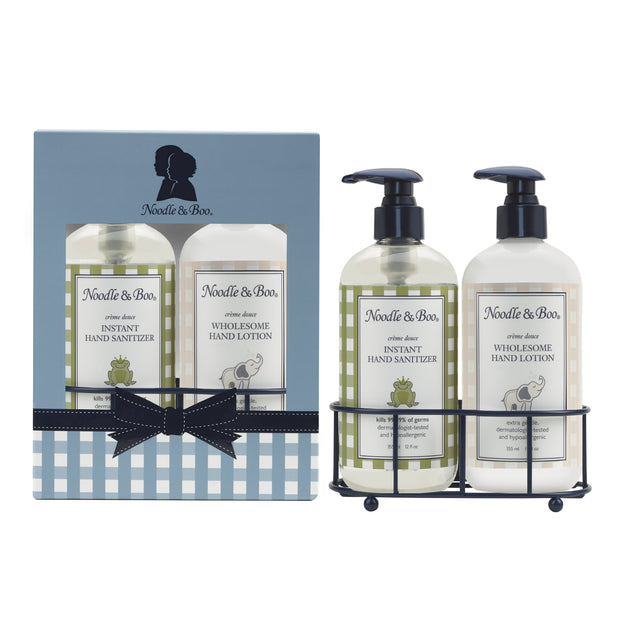 Hand Sanitizer & Lotion Caddy Set