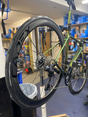 Giant TCR and Cadex Wheels