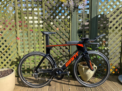 Giant Trinity Tri and TT Bike review
