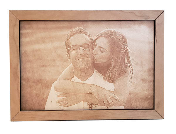 Custom Photo Engraving