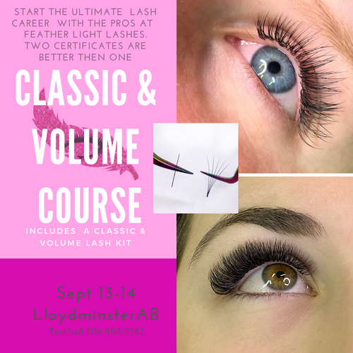 Classic and Volume Lash Class