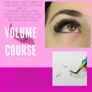 Volume Lash Training