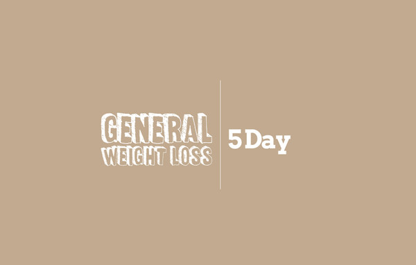 5 Day | General Weight Loss
