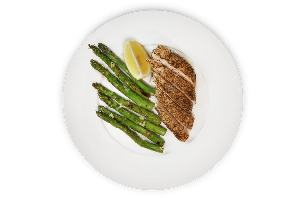 Lemon Pepper Chicken & Asparagus
