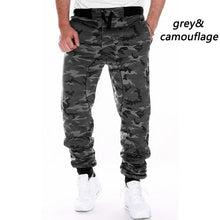 Load image into Gallery viewer, ZOGAA Mens Joggers Camouflage Sweatpants Casual Sports Camo Pants Brand Full Length Fitness Army Jogging Trousers Cargo Pants