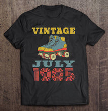Load image into Gallery viewer, Vintage July 1985 Patin Shoes Version T-Shirts