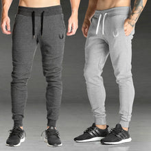 Load image into Gallery viewer, 2019 Men Gyms Joggers Pants Casual Elastic Cotton Mens Fitness Workout Pants Skinny Sweatpants Trousers Jogger Pants