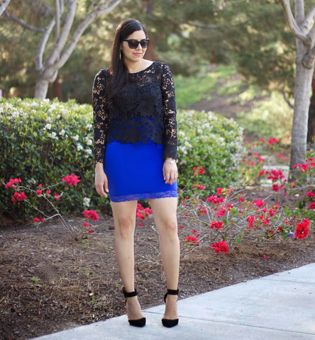 Paulina in the Out All Night Mini Skirt by Jewel Toned
