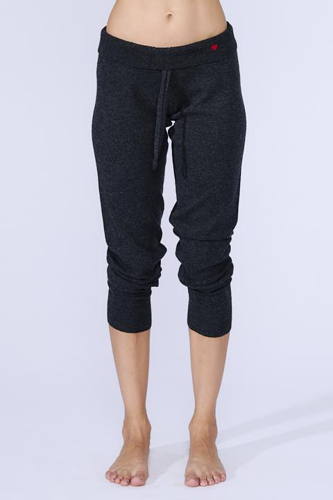 Weekend Cashmere Jogger: Charcoal