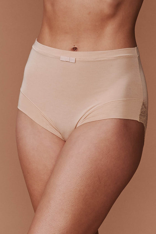 Everyday Super Soft High Waisted Panty: Nude