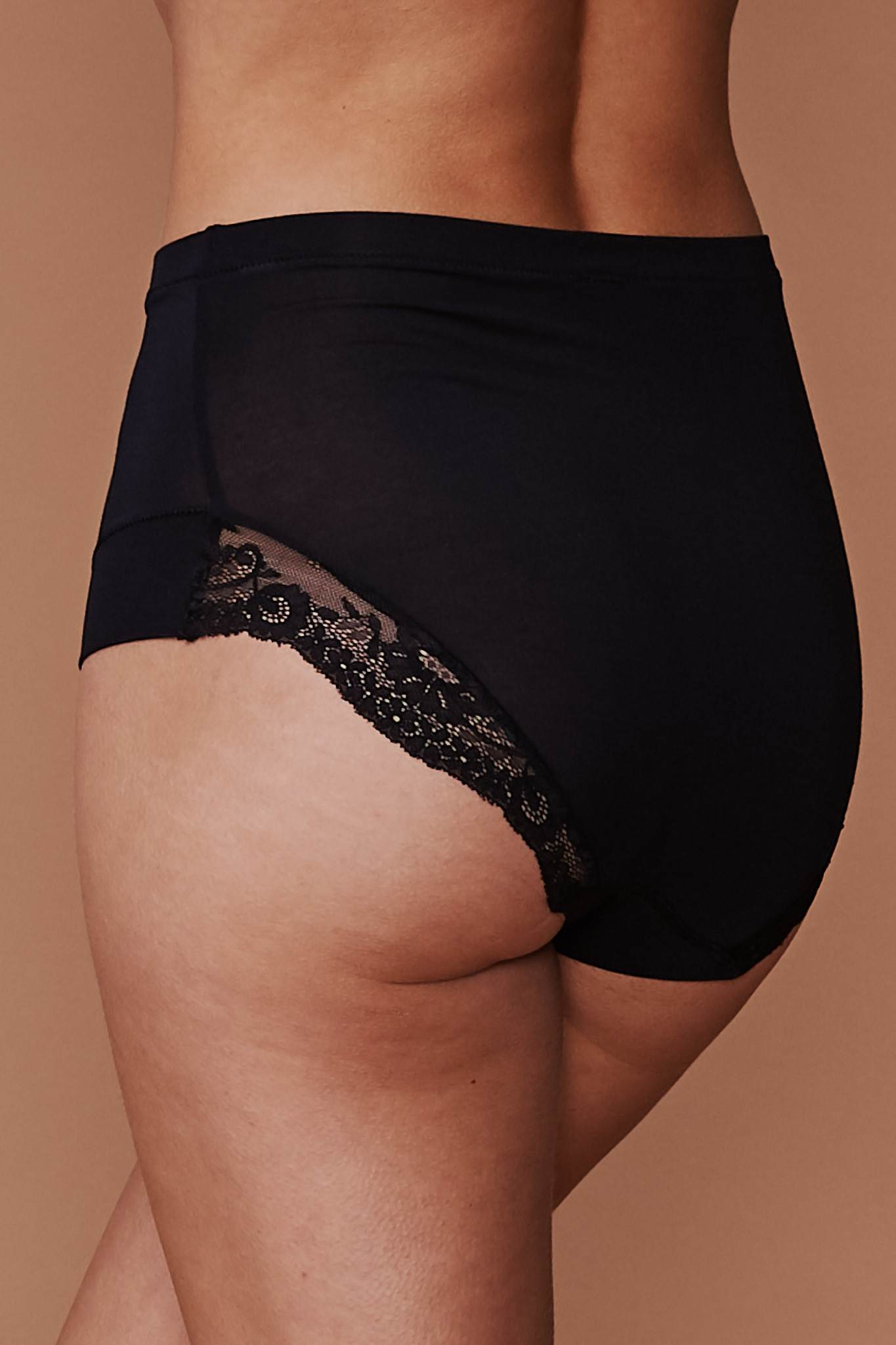 Everyday Super Soft High Waisted Panty: Black