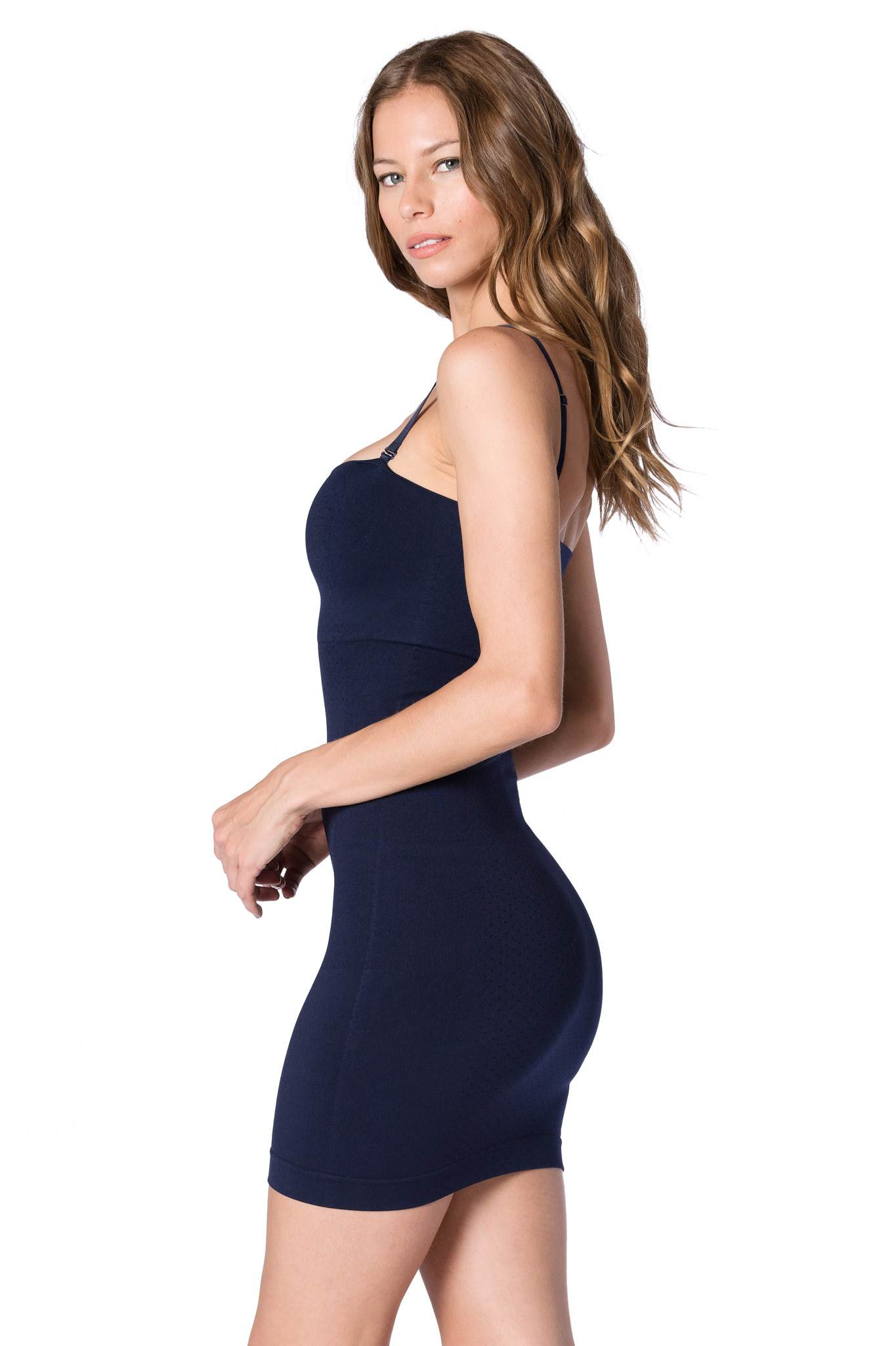 The Major Mini Dress: Navy