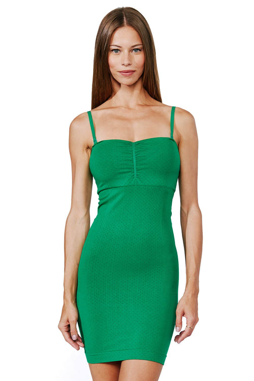 green shapewear dress