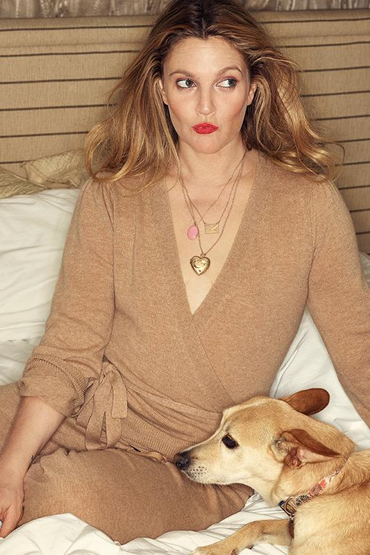 Weekend Cashmere Wrap Top: Camel