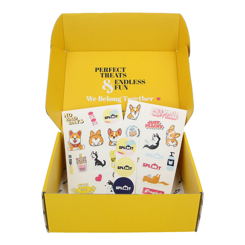Gift Box & Stickers