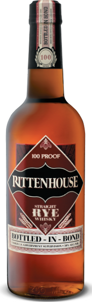Rittenhouse Straight Rye 100 Proof Whisky Bottled In Bond 50% 0,7l