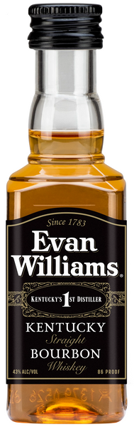 Evan Williams Kentucky Straight Bourbon Black Label 43% 0,05l