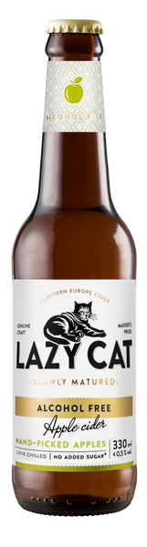 Lazy Cat Apple Alkoholivaba siider 0.33l