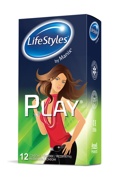 LifeStyles Play 12pcs