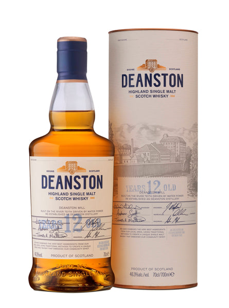 Deanston Highland Single Malt 12YO 46,3% 0,7l