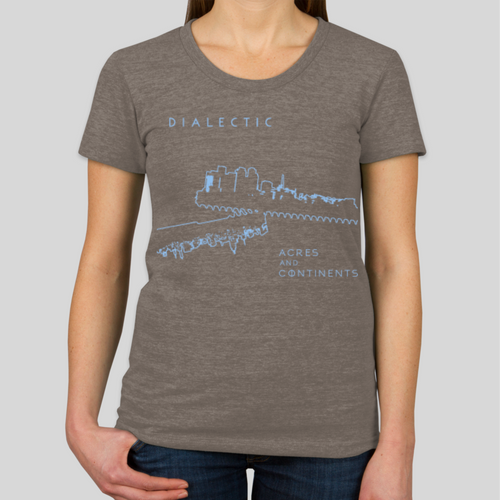 'Acres and Continents' shirt