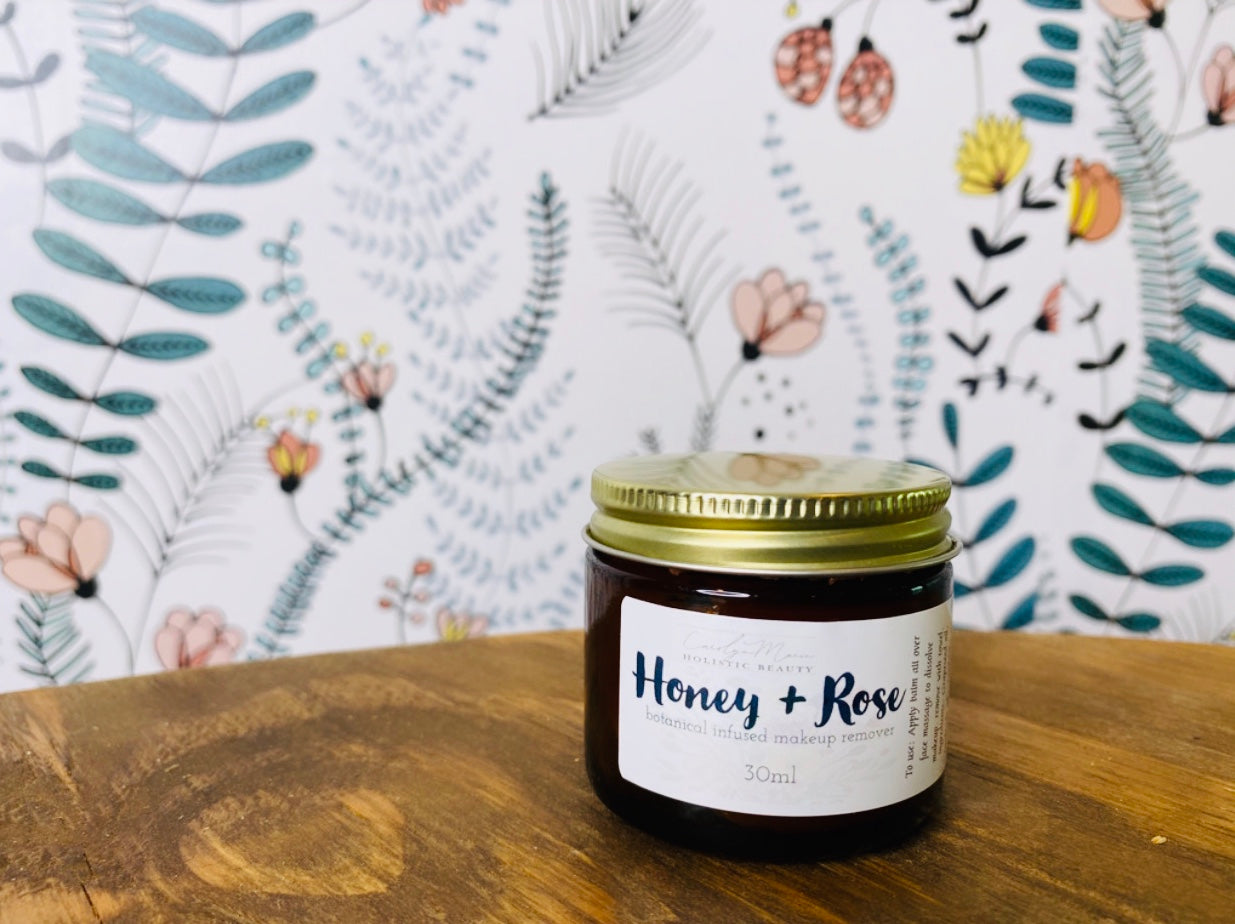 Honey + Rose Cleansing Balm