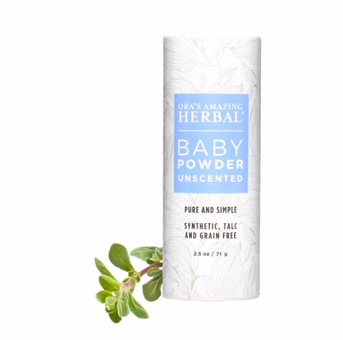 All Natural Baby Powder Unscented