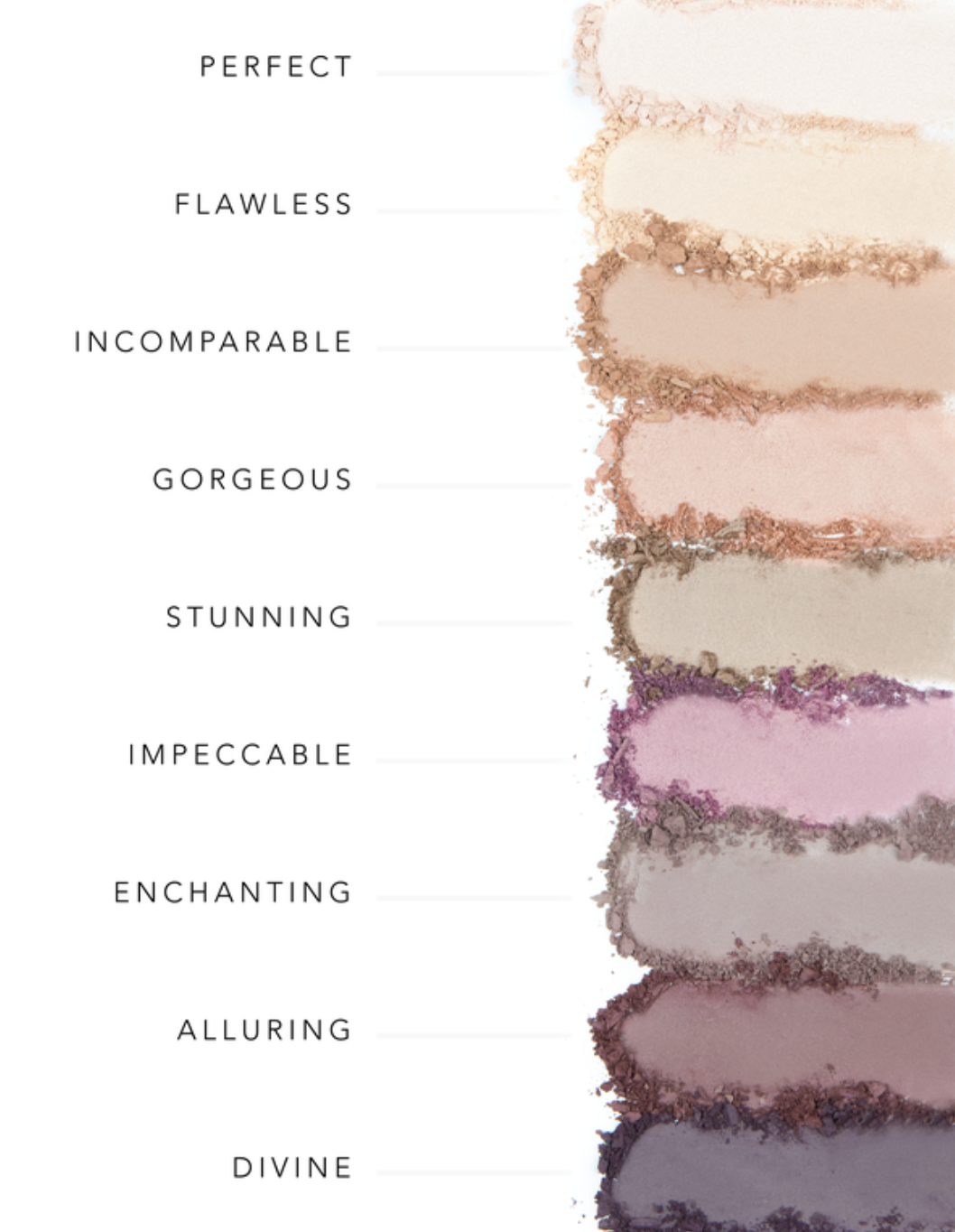 I Feel Beautiful - Smokey Violet Eye Shadow Palette