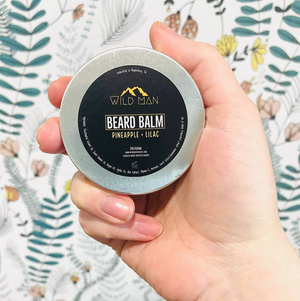 Pineapple + Lilac Beard Balm