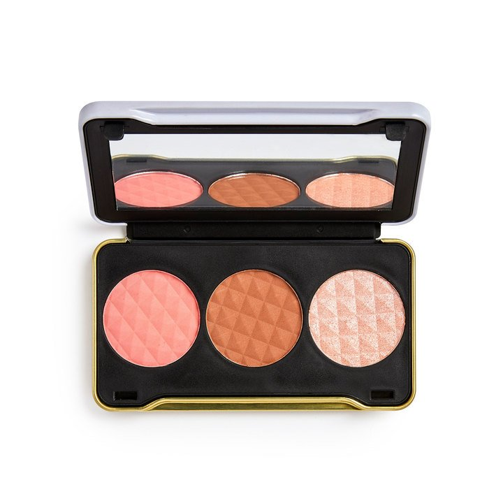 Revolution x Patricia Bright & Summer Sunrise Face Palette (Light ) - BeautyBound