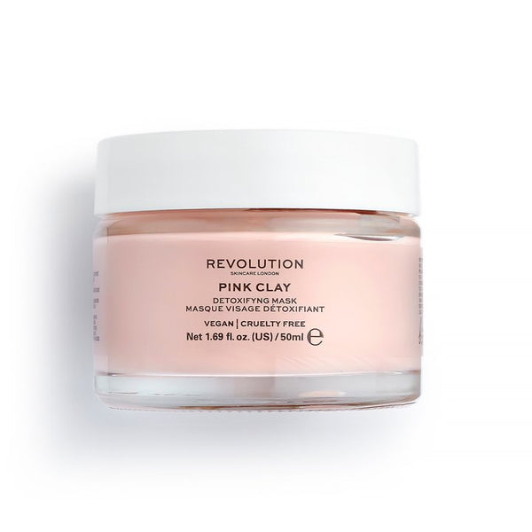 Revolution Skincare Pink Clay Detoxifying Face Mask - BeautyBound