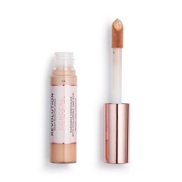 Revolution Conceal & Hydrate Concealer C8 - BeautyBound