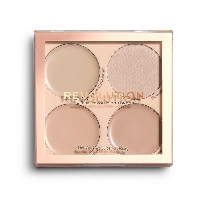 Revolution Matte Base Concealer Kit C1-C4 - BeautyBound.co.za