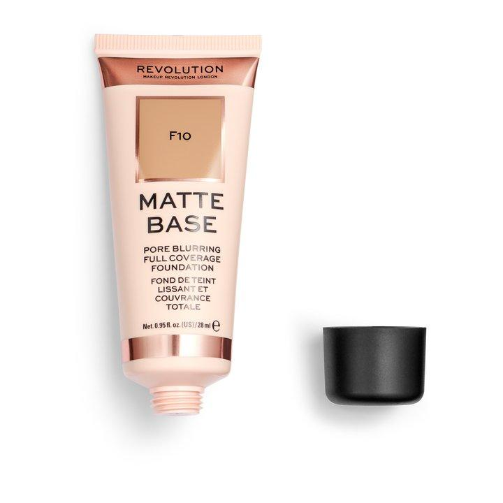Revolution Matte Base Foundation F10 - BeautyBound