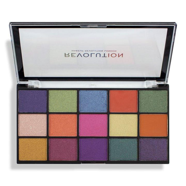 Revolution Re-loaded Eyeshadow Palette Passion for Colour - BeautyBound.co.za