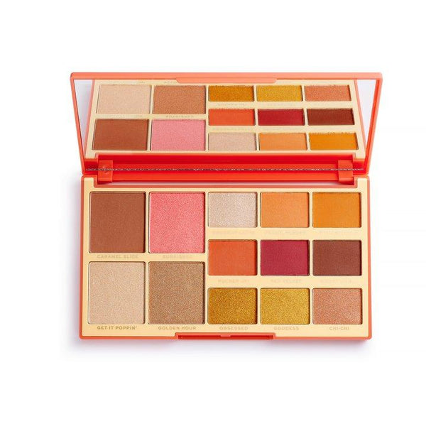 Revolution x Rachel Leary Goddess on the Go Eyeshadow Palette - BeautyBound.co.za