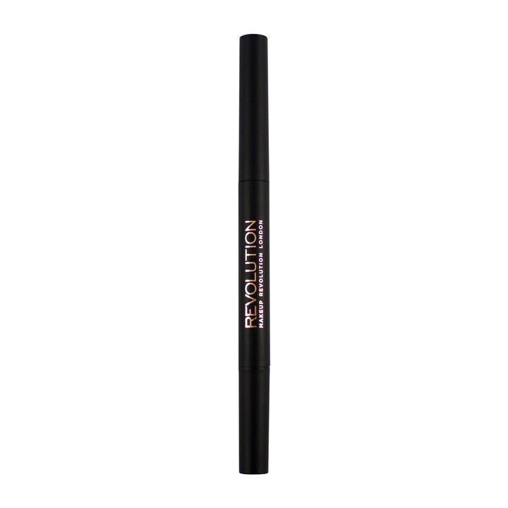 Revolution Duo Brow Pencil Light Brown - BeautyBound.co.za