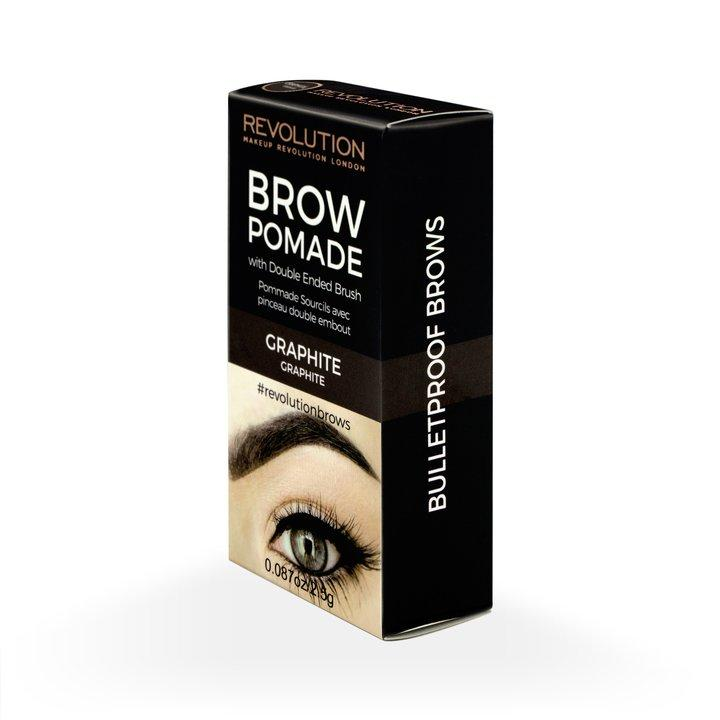 Revolution Brow Pomade Graphite - BeautyBound.co.za